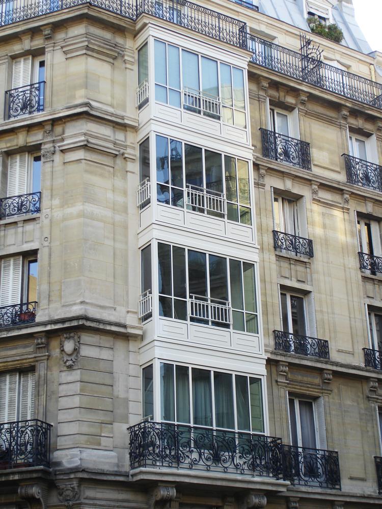 Immeuble rue Chapu - Paris 16 ème (75)