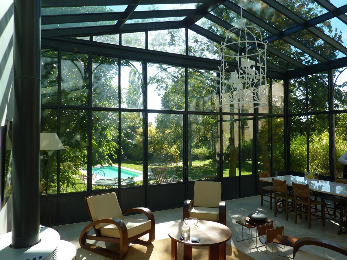 fineline v randas jardins d hiver. Black Bedroom Furniture Sets. Home Design Ideas