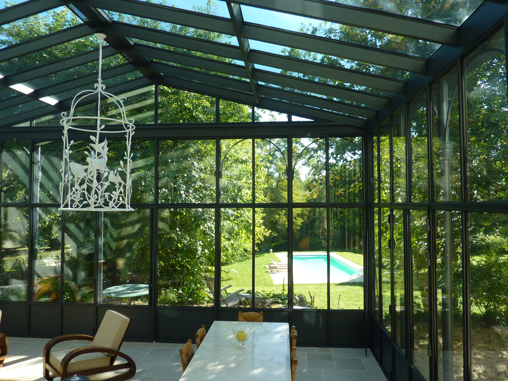 emejing jardin d hiver veranda gallery. Black Bedroom Furniture Sets. Home Design Ideas