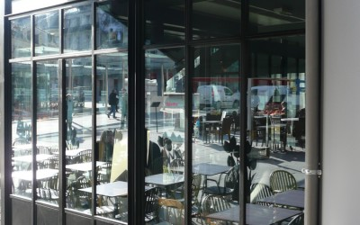Façade Bar-brasserie - Angers (49)