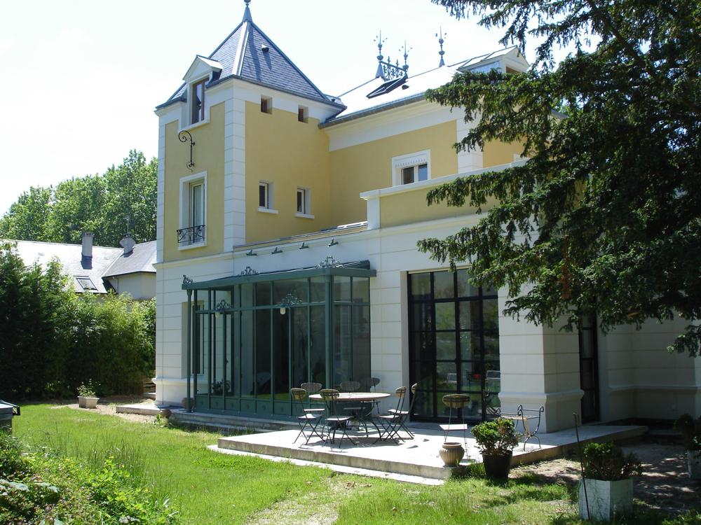 Véranda maison de particuliers - Maison-Lafitte (78)