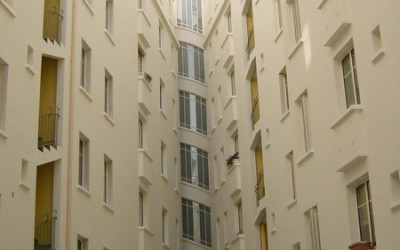 Cage d'escalier d'immeuble - Neuilly (92)