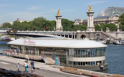Péniche Rosa Bonheur - Pont Alexandre III - Paris